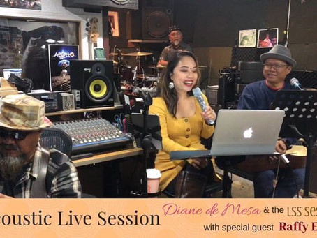 Acoustic Live Session with special guest, Raffy Espiritu!