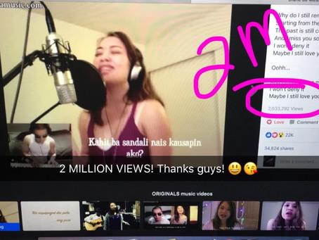 """Miss na miss kita"" 2 MILLION VIEWS in Facebook!"