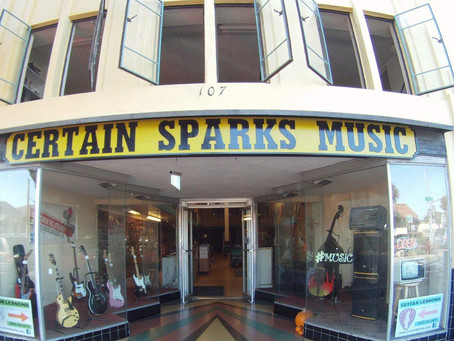 Thank you for the blog feature! - Certain Sparks Recording Studio!