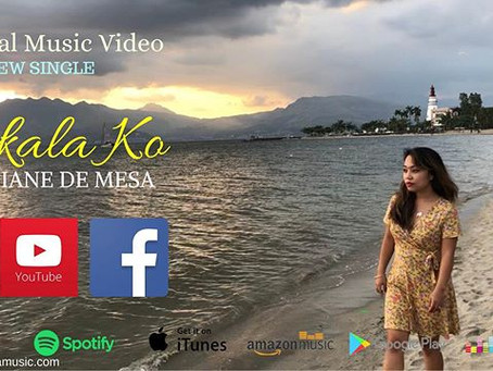 "Diane de Mesa releases new single, ""AKALA KO"" from the album ""With Love""!"