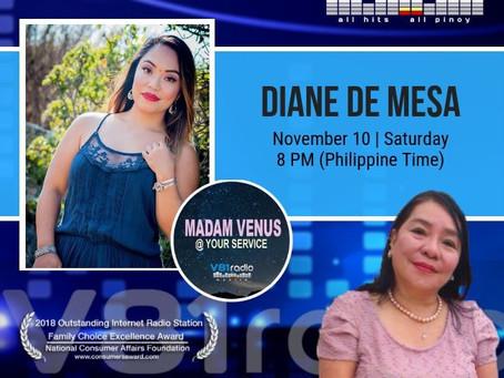 Guesting at Madam Venus at your service @ V81 Radio!