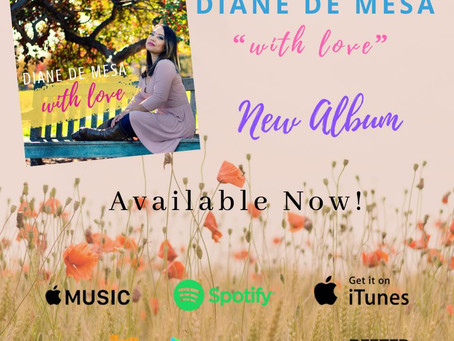 "Diane de Mesa releases 4th album, ""With Love""!"