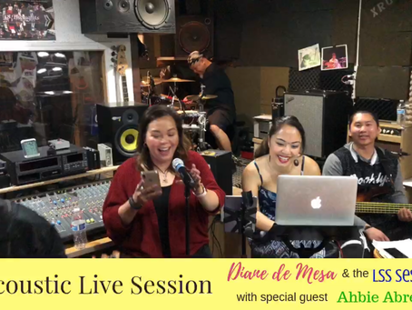 Acoustic live session with Ahbie Abrenica! 5.4.19