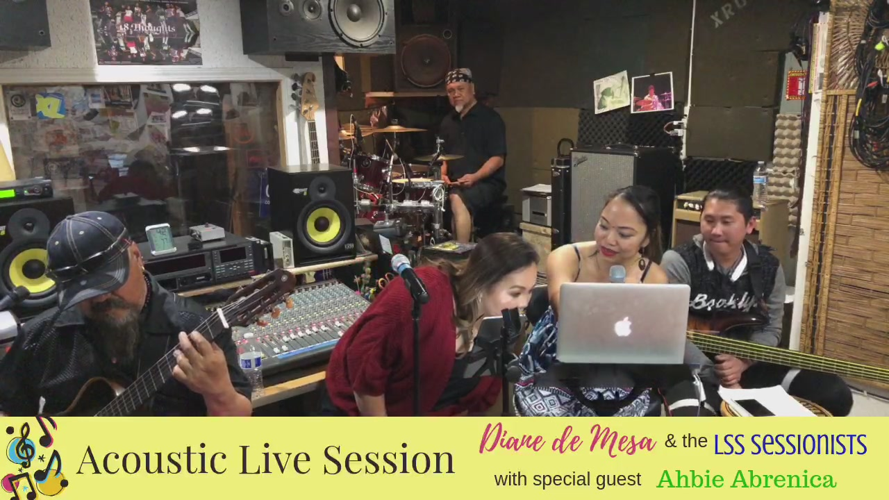 Acoustic live session with our special guest, Ms. Ahbie Abrenica!