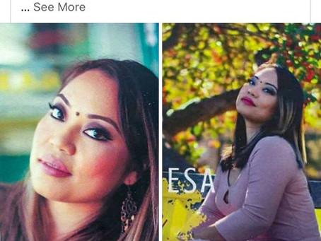 Diane de Mesa featured on Celebrity World_1.20.20