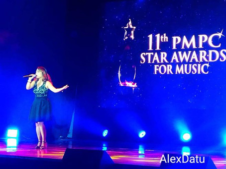 Diane de Mesa performs at the 11th Star Awards for Music!