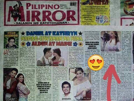 "Thank you Mr. Alex Datu for ""Pilipino Mirror"" article feature!"