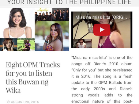 Thank you Sampaguita Nation for the feature!