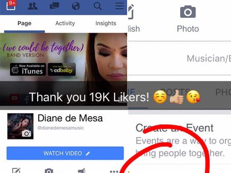 19K Likers in Facebook!