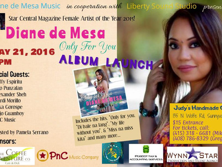 """Save the date! """"Only for you"""" album launch!"""