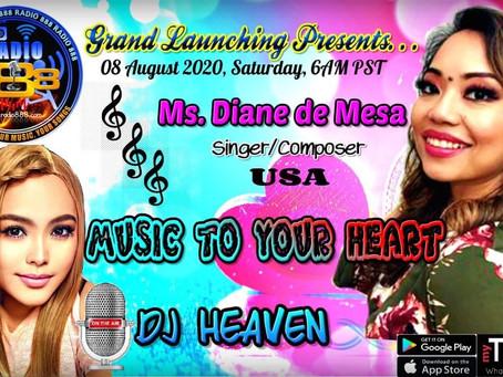 Radio Guesting for Grand Launch of Radio888 online radio!