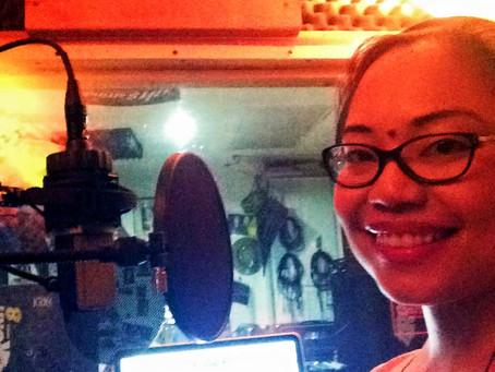 """Recording """"May mahal ka nang iba"""" for """"Only for you"""" album"""