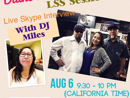 Live Skype interview with DJ Miles in Raydio Filipino!