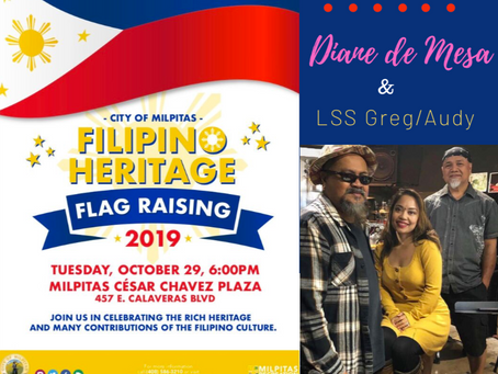 Filipino Heritage Flag Raising in Milpitas, CA!