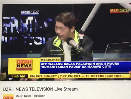 """""""Kung pwede lang sana"""" now playing on DZRH Short time!"""