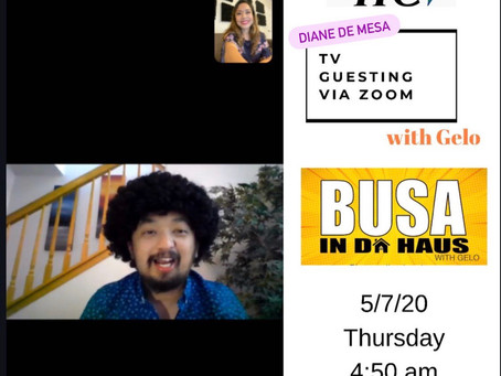 Diane de Mesa guesting at BUSA with Gelo on TFC!