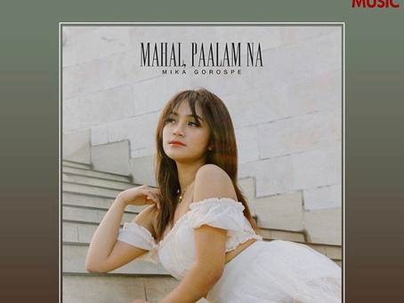 "Mika Gorospe's ""Mahal, Paalam na"" composed by Diane de Mesa now available!"