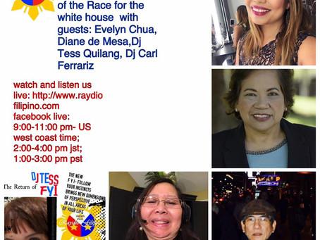 Radio guesting in Raydio Filipino with DJ Miles!