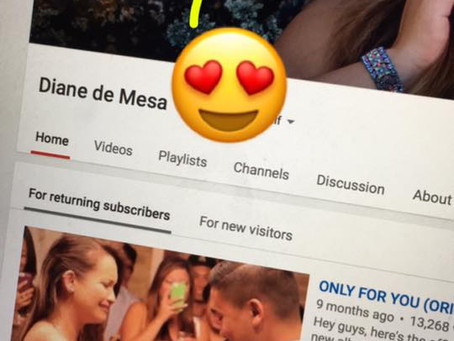 Diane's Youtube channel reaches 7 Million views!
