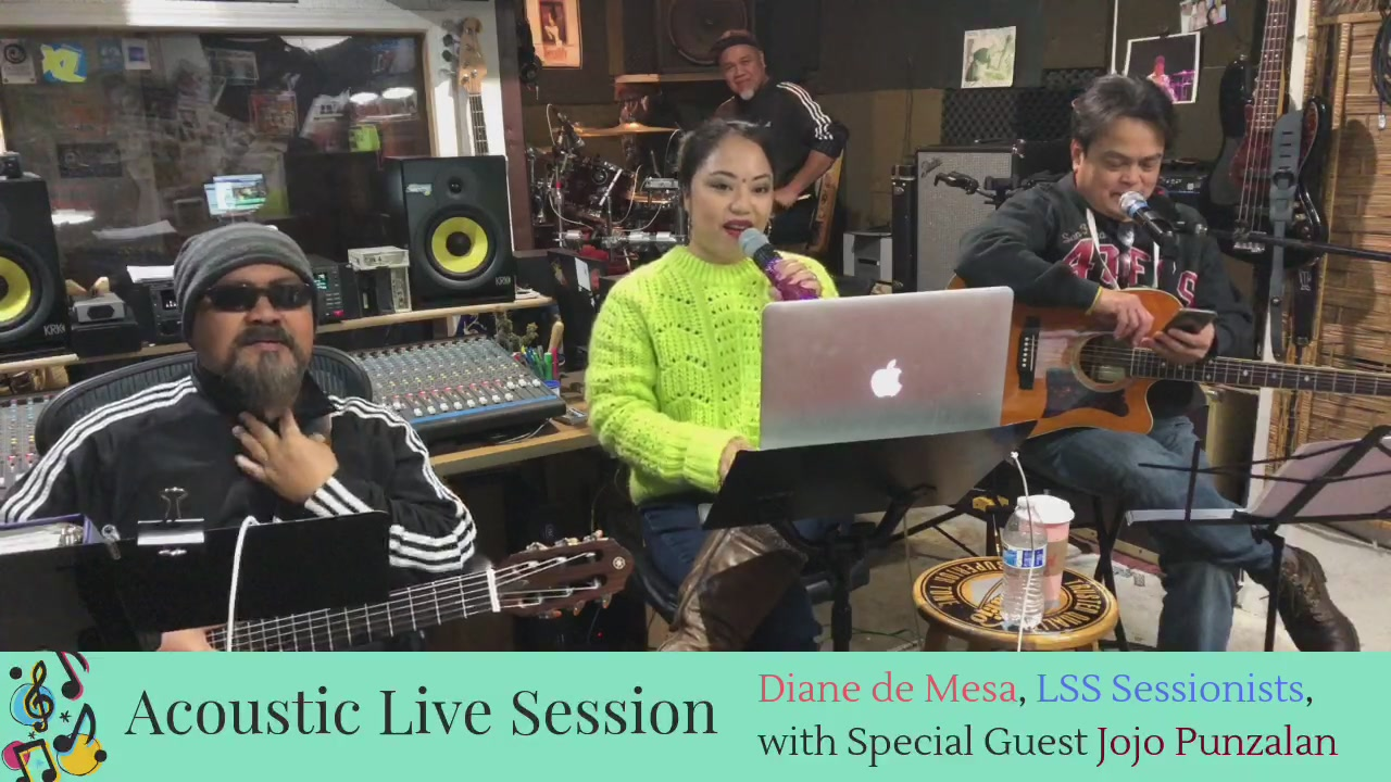 Acoustic Live Session with special guest, Jojo Punzalan!