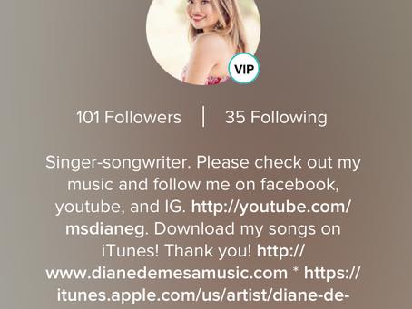 Follow Diane in Smule!