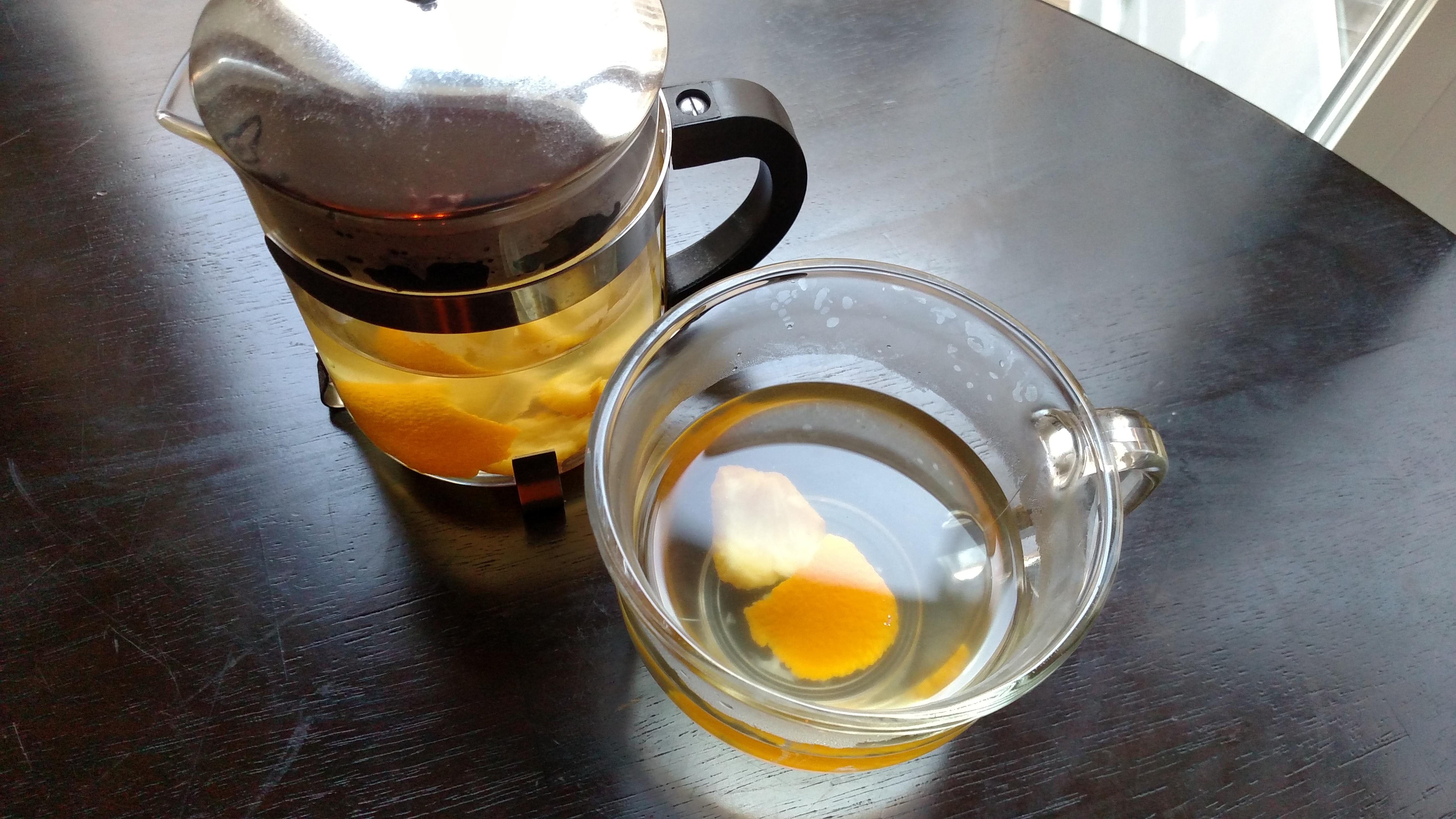 Ginger Orange Tea