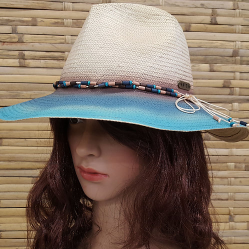 104S19 Rodeo Women's summer vacation travel fedora Poly Braid hats