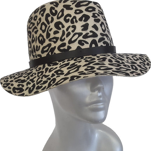 "The ""Albino Tiger"" Fedora - Style #515F19"