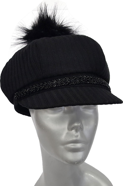 'Newsy' Hat - Style #603F19