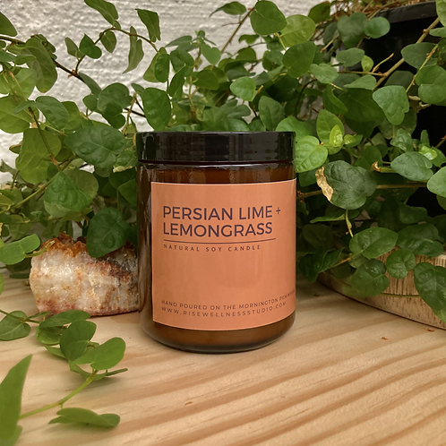 Persian Lime + Lemongrass