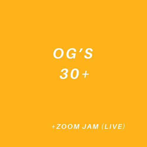 OG's Over 30+ Class