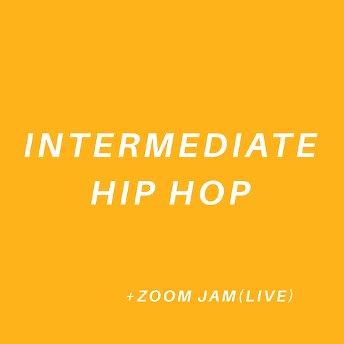 Intermediate Hip Hop (All Ages)