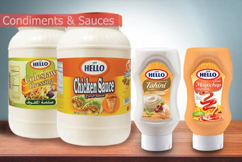 Condiments & Sauce