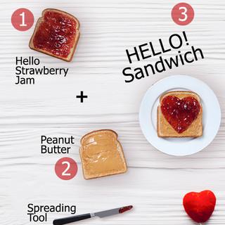 Hello Jam Sandwich