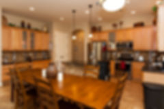 Example of kitchen in group home
