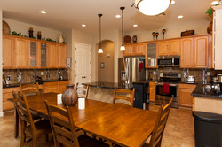 Example of group home kitchen