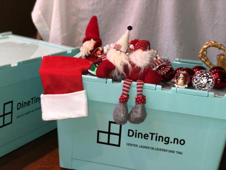 Rydding og lagring av juledekorasjonen