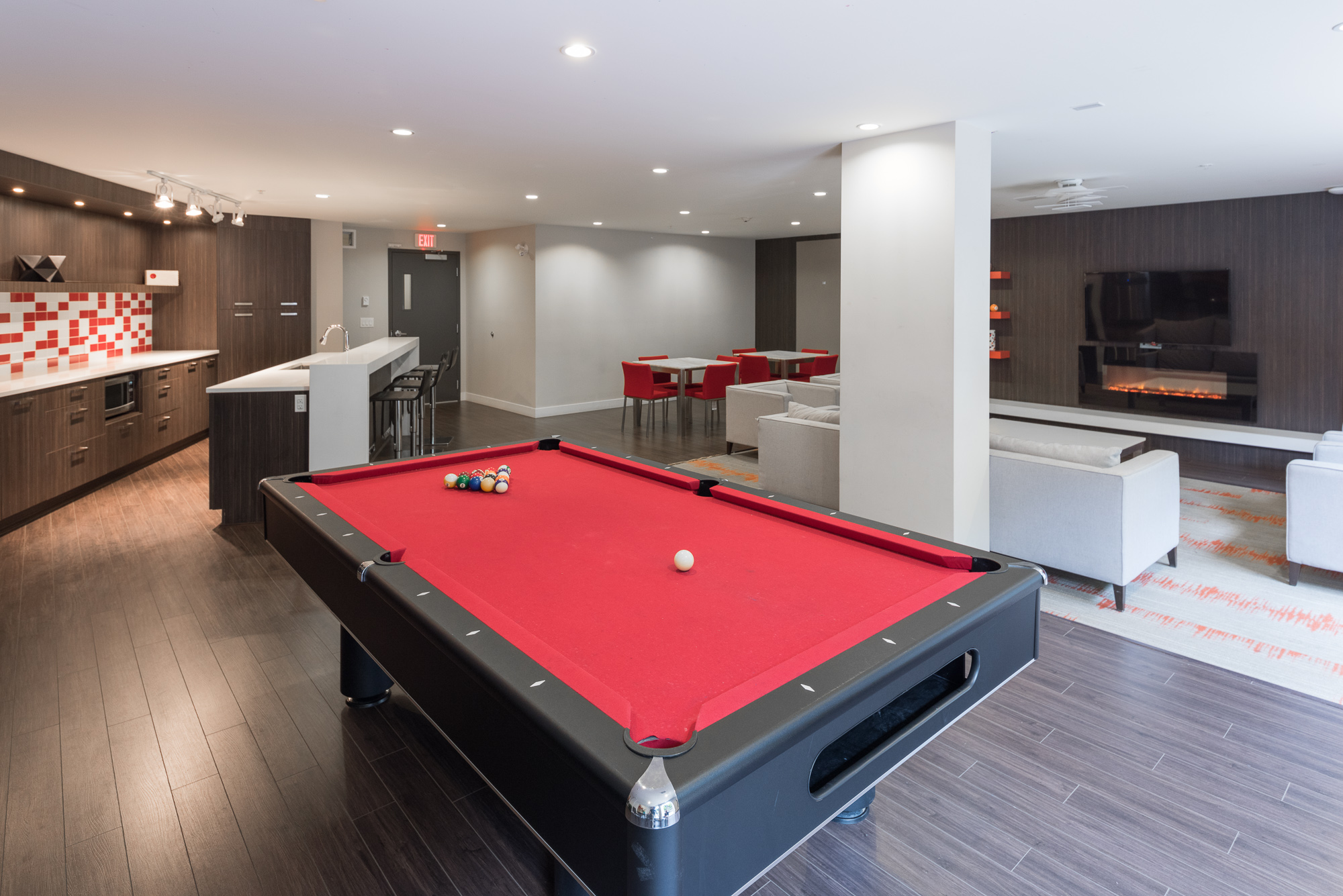Billiards in the Party Room