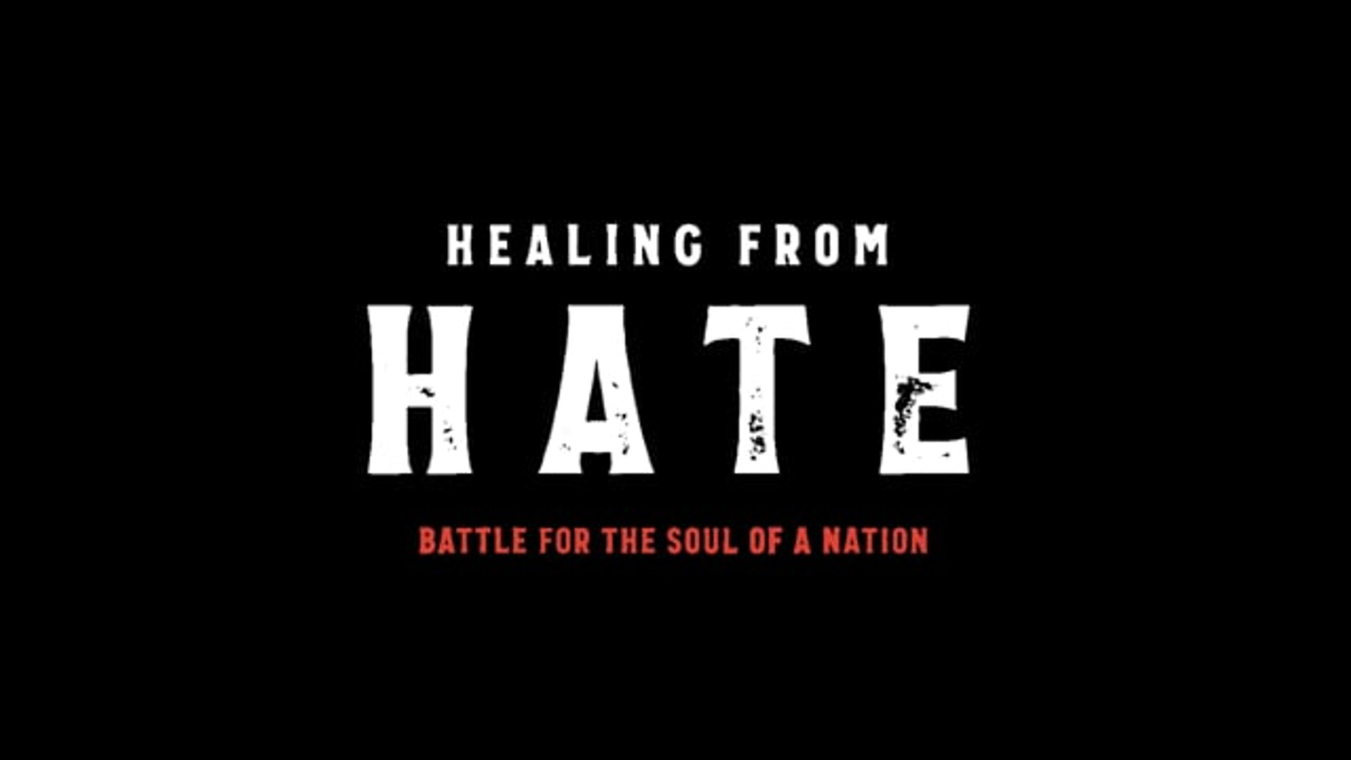 Healing from Hate, Battle for the Soul of a Nation