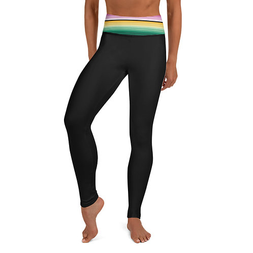 Serape Yoga Leggings