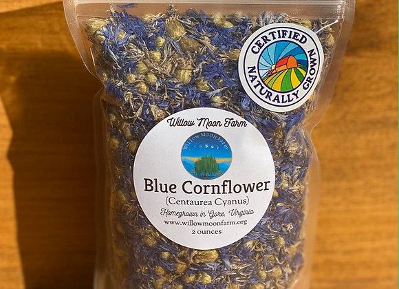 Blue Cornflower - Certified Naturally Grown