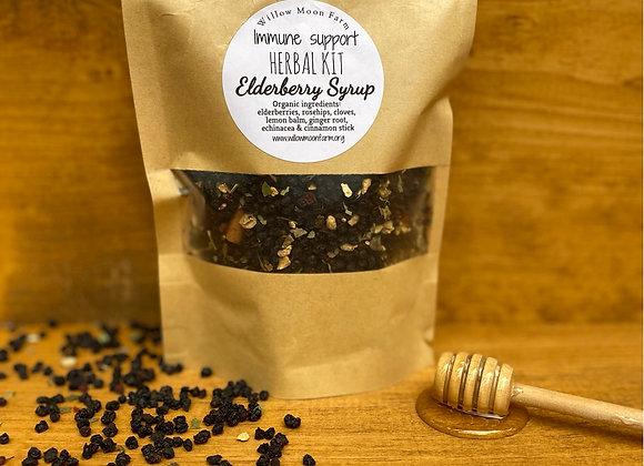 Herbal Elderberry Syrup Kit - DIY