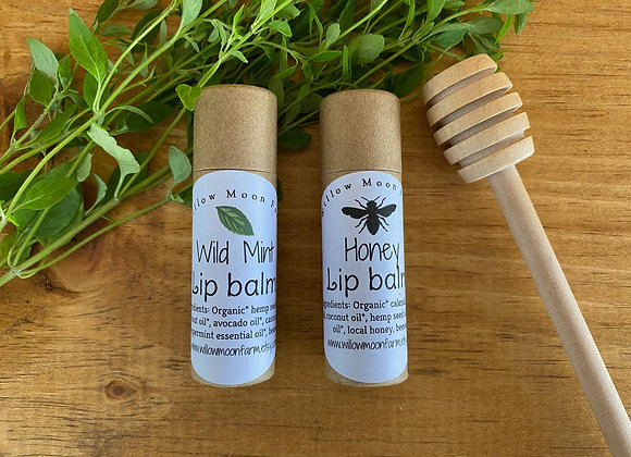 Lip balm - wild mint + honey