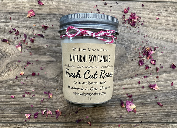 Fresh Cut Roses -Natural Soy Candle