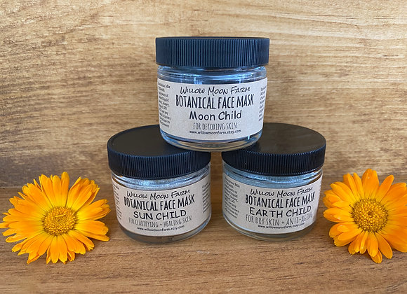 Botanical face mask