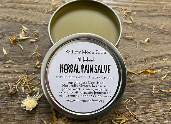 Pain Salve - Herbal - All Natural