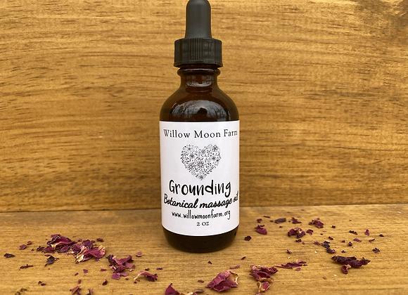 Massage oil - Grounding - Botanically infused