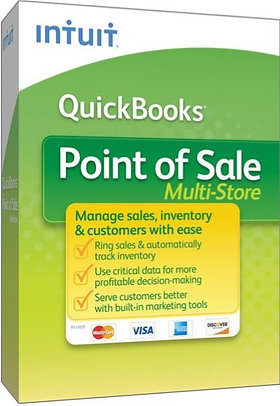 QuickBooks Point Of Sale Multi Store - Contact Us for current promotion