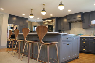 One of our gorgeous kitchen remodels.