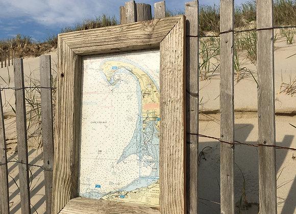 Nautical Map 8x11